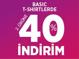 basic tshirt 2.ye %40 indirim