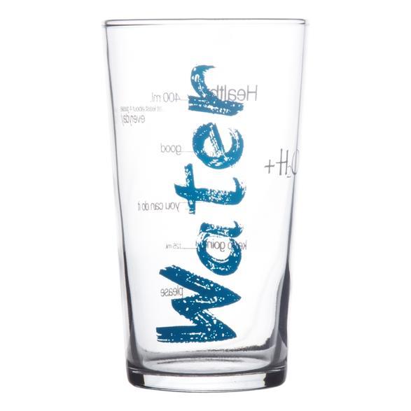 WATER MAVİ BARDAK - 570 ML