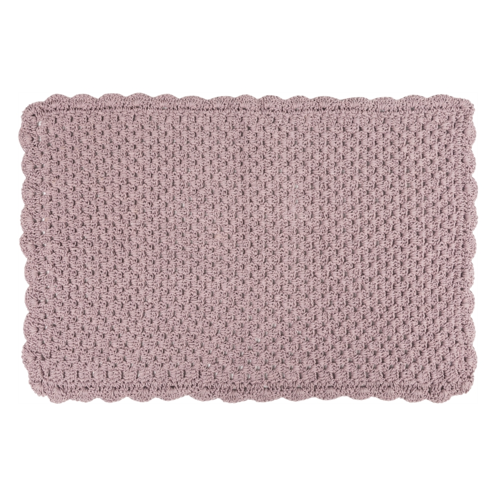 KNITTED 60X100 CM LİLA PASPAS