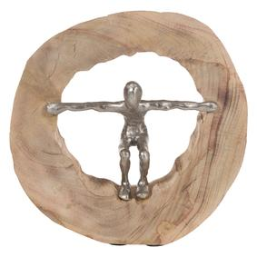 MAN IN LOG BİBLO 29X28 CM