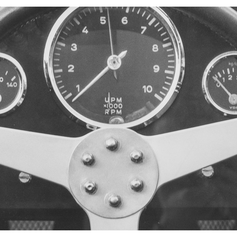 1959 PORSCHE PANO 51X51 CM