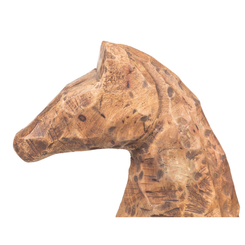 CHISELED HORSE BIBLO 52X46 CM