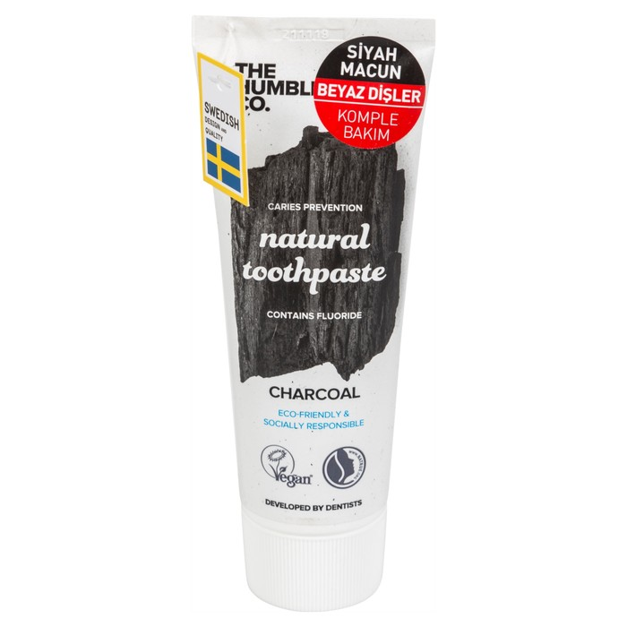HUMBLE TOOTHPASTE CHARCOAL