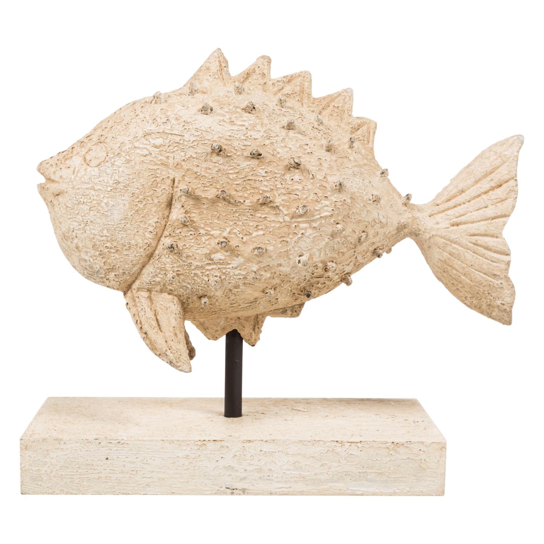 WOODEN FISH BİBLO 24X22CM