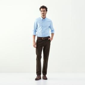Erkek AÇIK MAVİ SLİM CASUAL GÖMLEK 1197216|MUDO