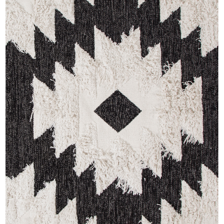 PALMIRA HALI SIYAH-BEYAZ 120x180 CM