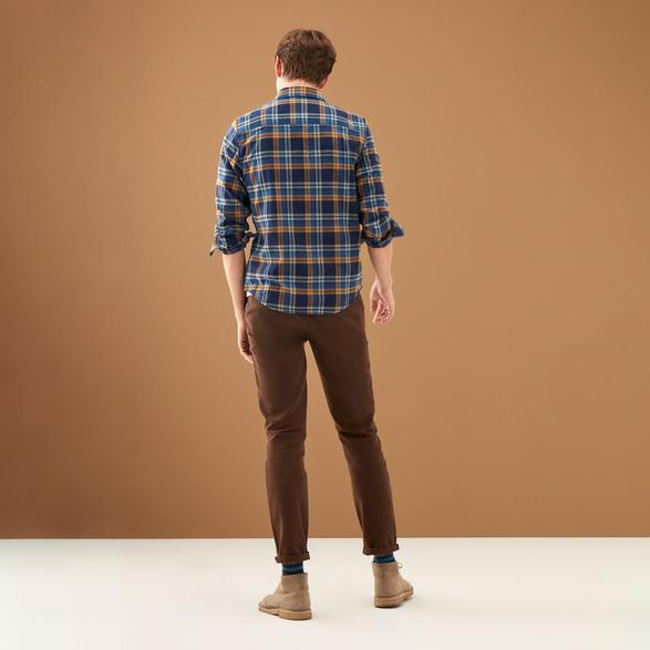 SLIM STRAIGHT CHINO PANTOLON