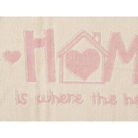 HOME PINK 60X100 CM PASPAS