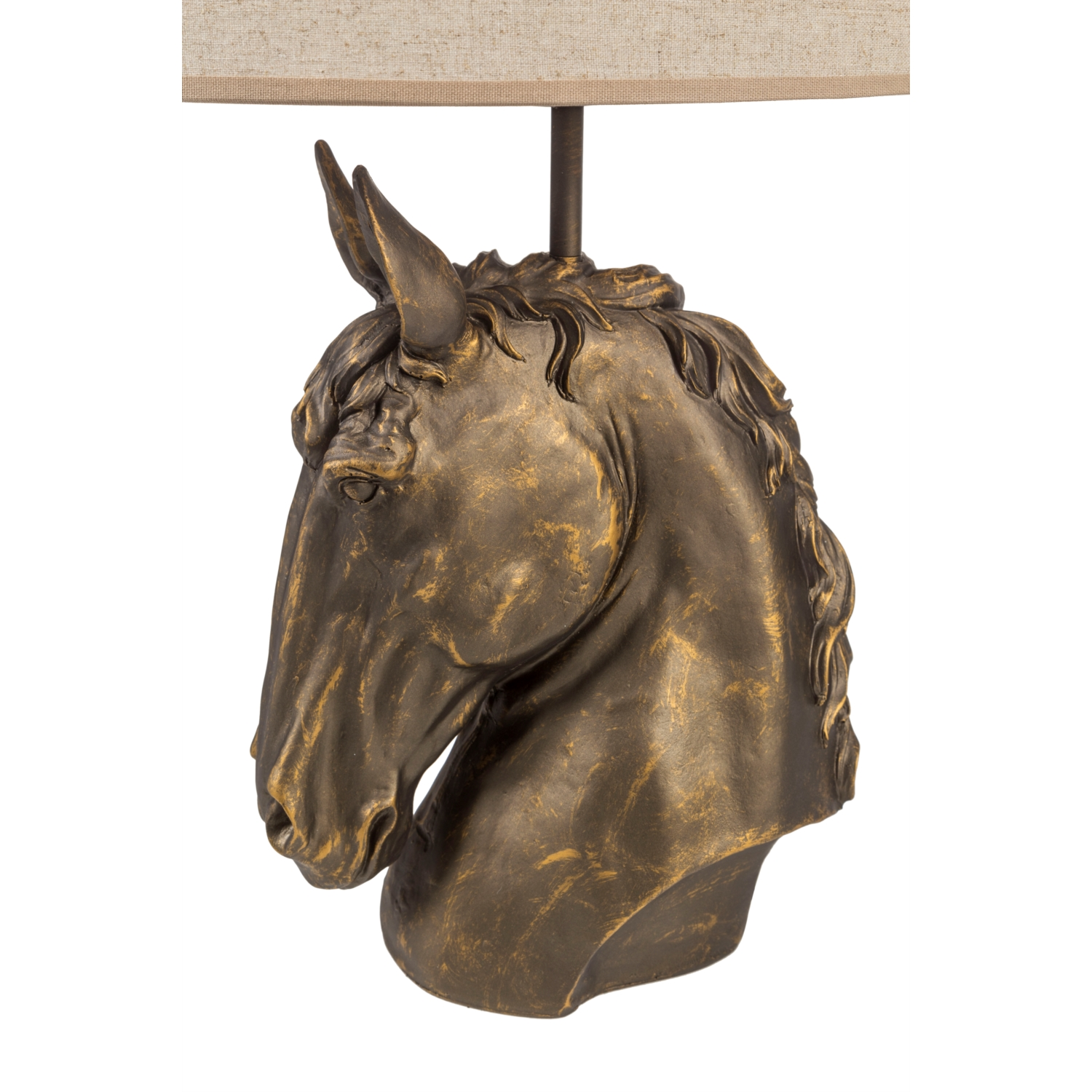 NEO CAVALLO BRONZ AT ABAJUR