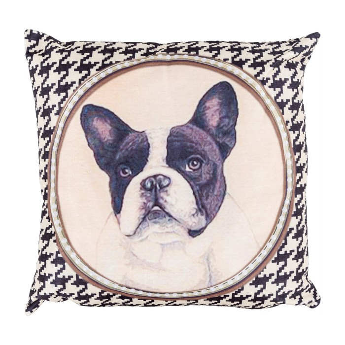 BOSTON TERRIER KIRLENT 45x45 CM