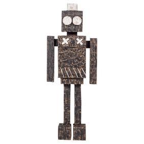 ROBOT BİBLO 17X6X48CM SİYAH