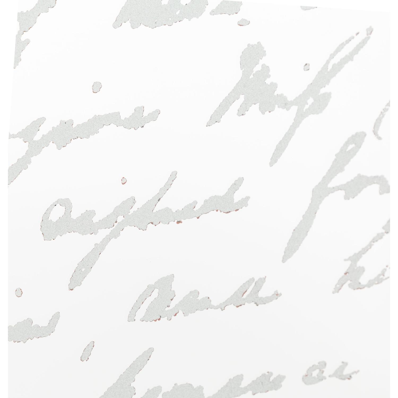 GÜMÜŞ ESKİTME ELİPS YAZILI AYNA 30X100 CM