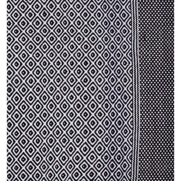 FESTIVE HALI  SIYAH-BEYAZ 120x180 CM