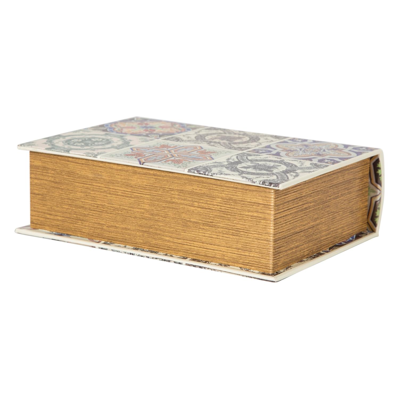 CREME KİTAP KUTU 19X8X27CM
