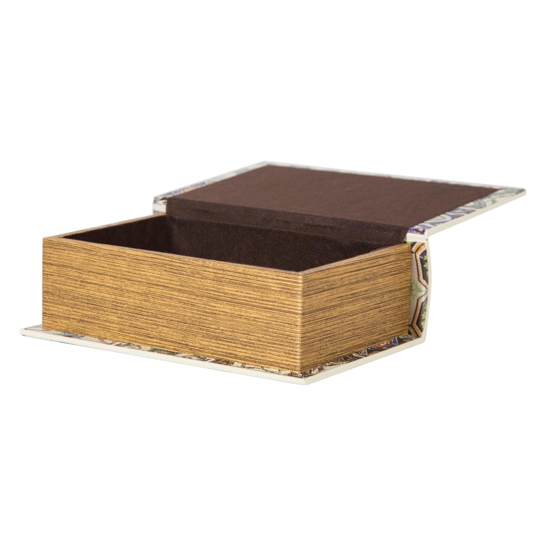 CREME KİTAP KUTU 14X7X20CM