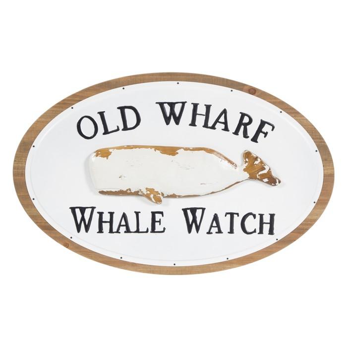 OLD WHARF PANO 68 CM