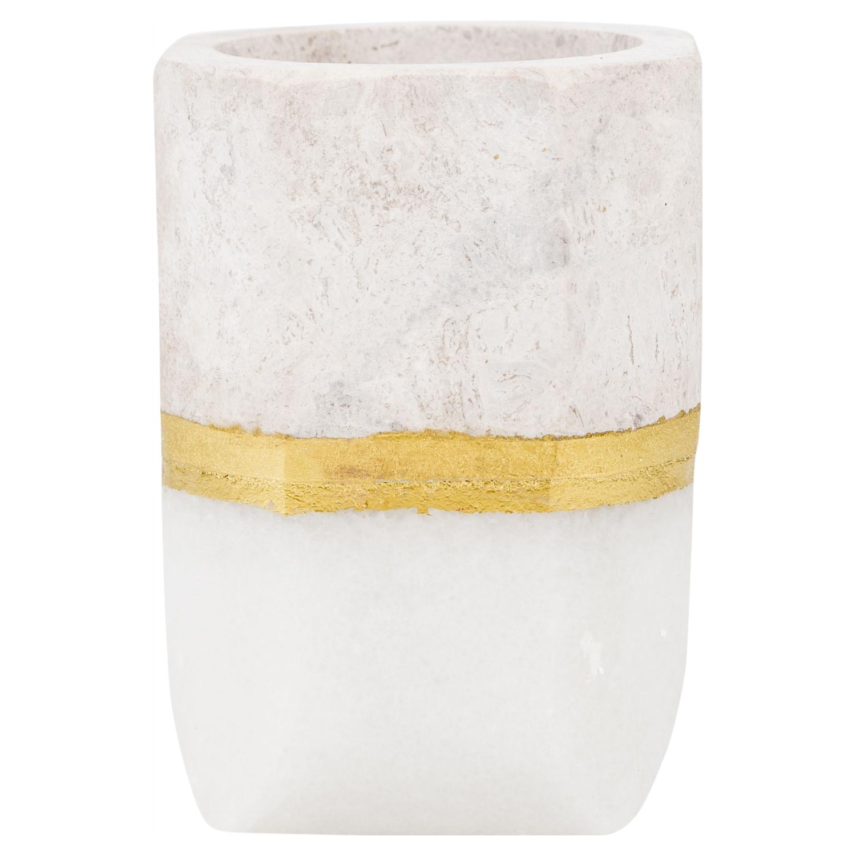 WHITE MERMER VAZO 9X9X12,5CM