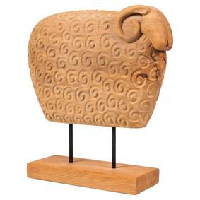 WOODEN SHEEP 30X24 CM