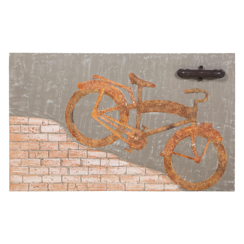 BICYCLE PANO 130X80X2 CM