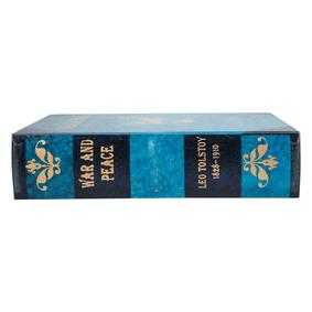 WAR AND PEACE KITAP KUTU 20X6X25CM