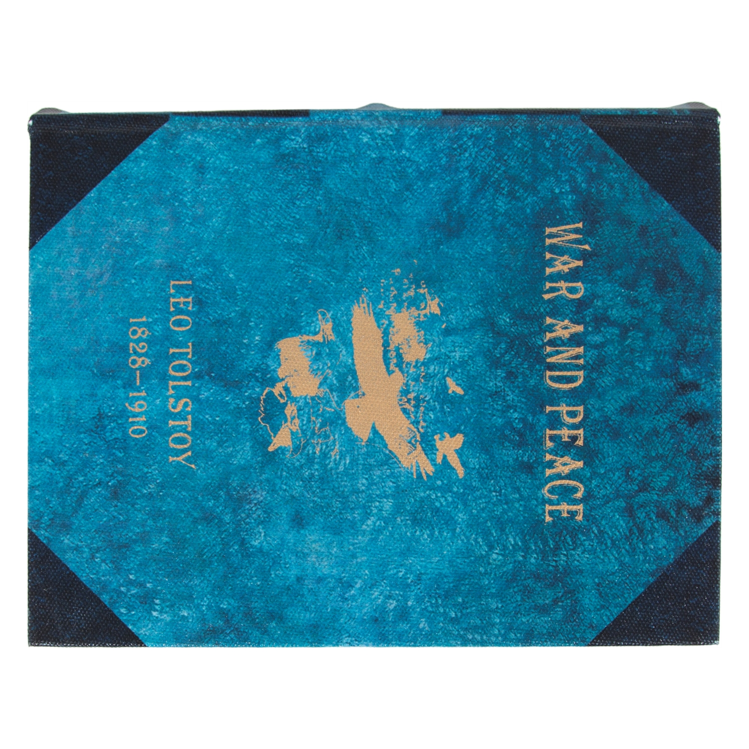WAR AND PEACE KITAP KUTU 16X5X20CM