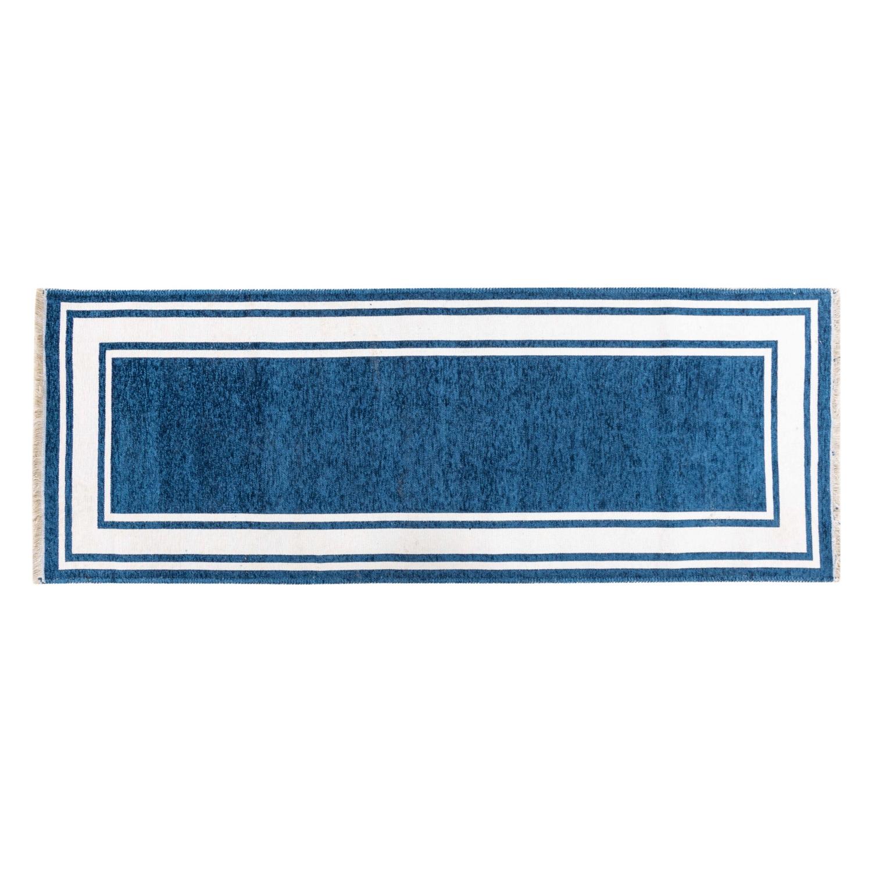 ALICE YOLLUK LACIVERT-BEYAZ 75x200 CM