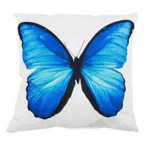 BLUE BUTTERFLY KIRLENT 42x42 CM
