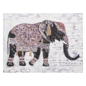 ELEPHANT İŞLEMELİ TABLO 90X120CM