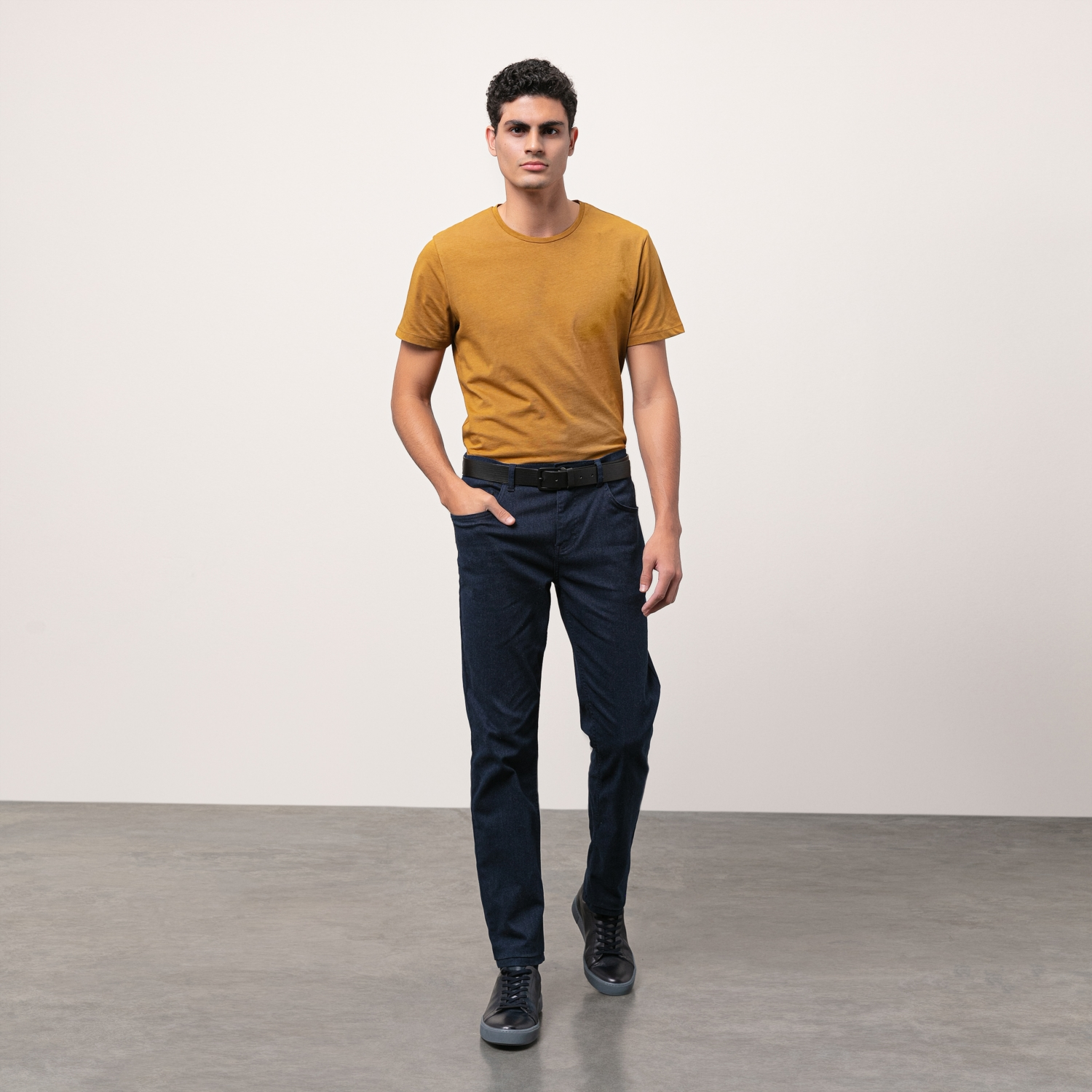 PAMUKLU SLIM STRAIGHT DENIM PANTOLON