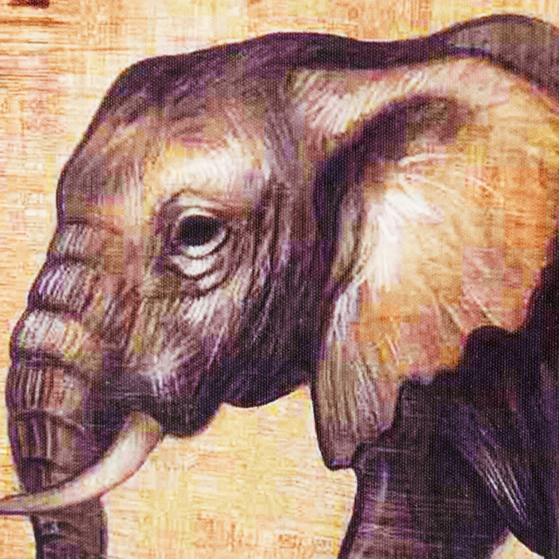 ELEPHANT FAMILY KANVAS TABLO 50X100CM