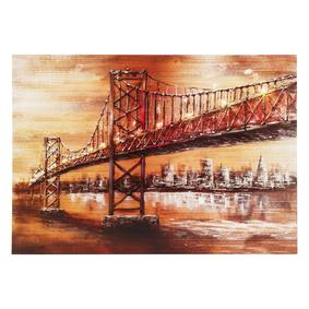 BRIDGE VIEW KANVAS TABLO 70X100CM