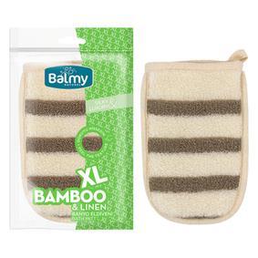 XL BAMBU-KETEN BANYO ELDİVENİ