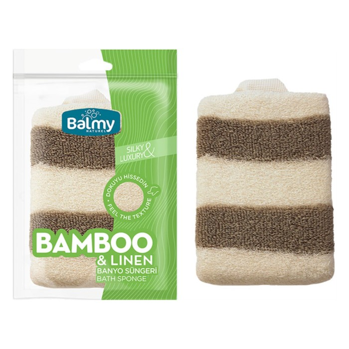 BAMBU- KETEN BANYO SÜNGERİ
