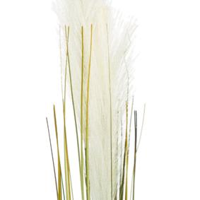 SINGLE GRASS BEJ DAL ÇİÇEK - 92CM