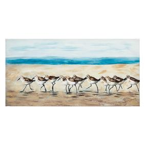 BIRDS FAMILY YAĞLIBOYA TABLO 60X120CM