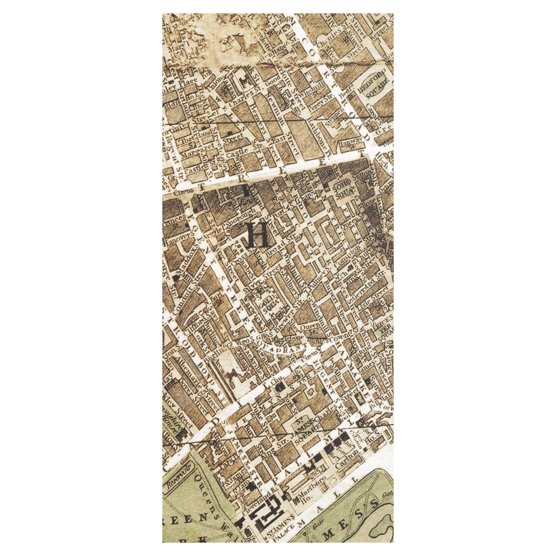 OLD TOWN HARİTALI DUVAR AYNASI 100X130CM