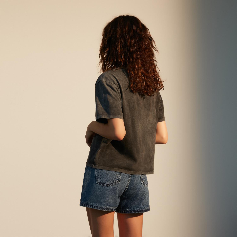 Kadın SİYAH LOONEY TUNES ©.™WARNER BROS. T-SHIRT 1218321|MUDO