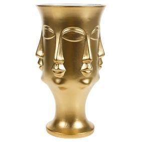 VIVALLI 35.6 CM GOLD BUDDHA SURATI VAZO