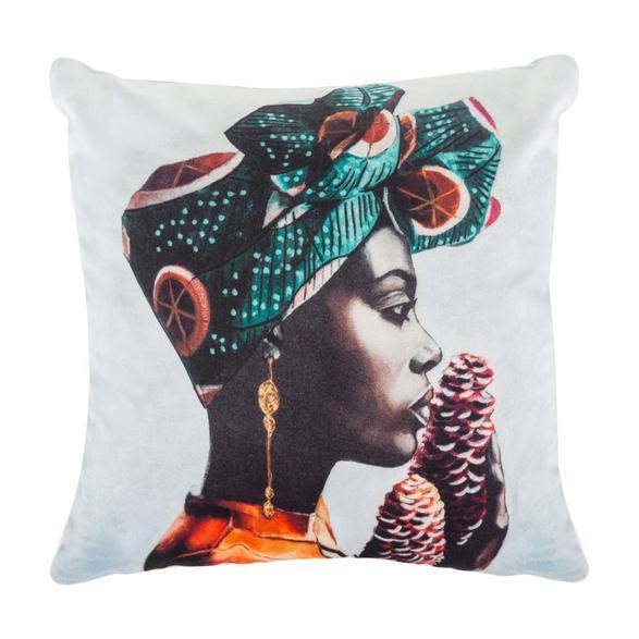 AFRICAN LADY KIRLENT EKRU 45X45CM