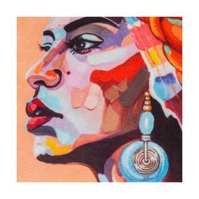 AFRICAN LADY KIRLENT TURUNCU 45X45CM