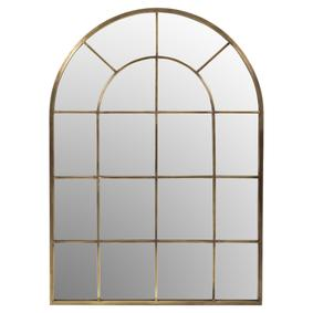 WINDOW METAL AYNA GOLD  94X132CM