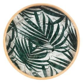 GROEN PALM LEAVES PANO 56X6.1CM