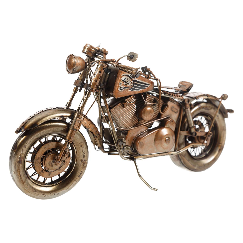 VINTAGE MOTORCYLE BİBLO 34CM
