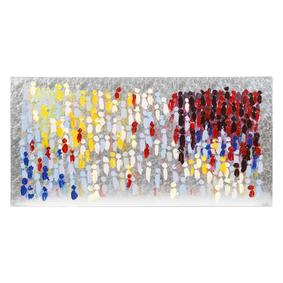 SILVER COLORFUL YAĞLIBOYA TABLO 60X120CM