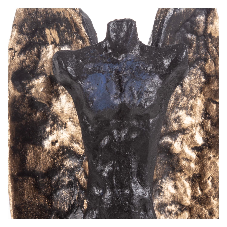 GOLD KANATLI BİBLO SİYAH 9,5X37CM