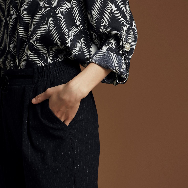 Kadın MULTİ RENK TAŞLI RAHAT KESİM BLUZ 1220690|MUDO