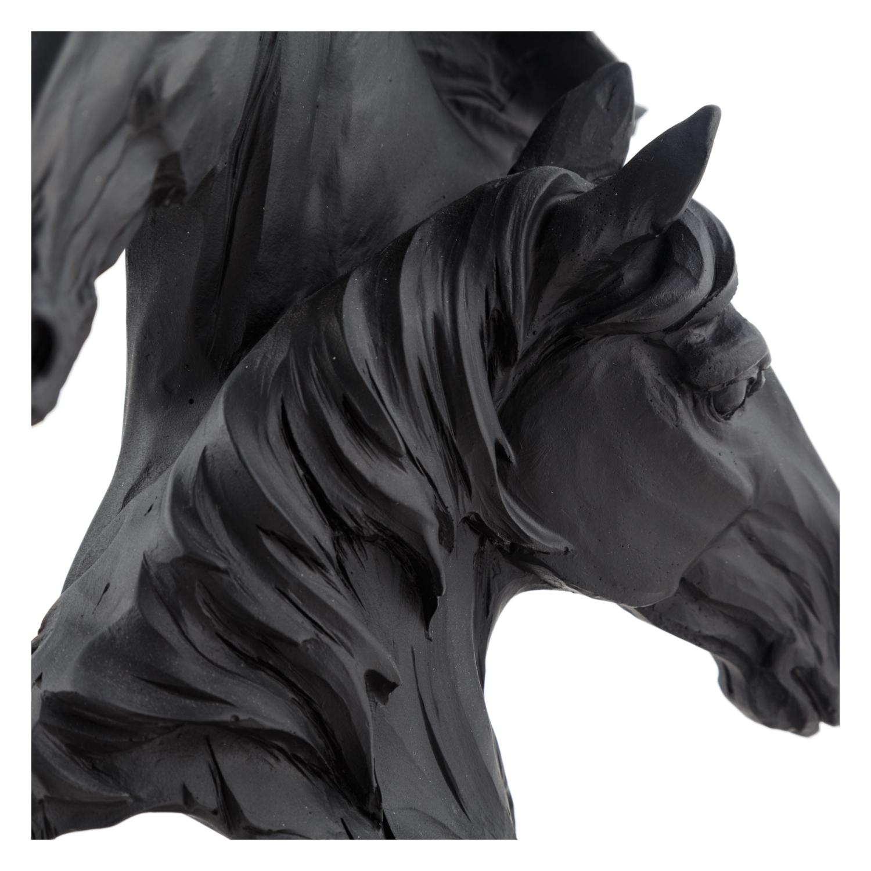 HORSES BÜST BİBLO 17X10X23CM