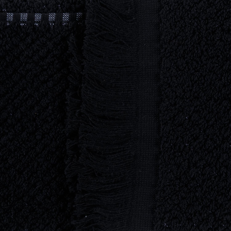 DORA SİYAH HAVLU 50X80 CM