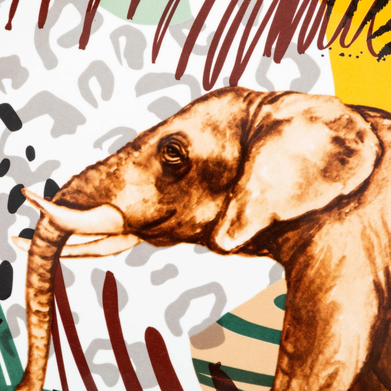 WILD ELEPHANT SERVİS TABAĞI 26 cm