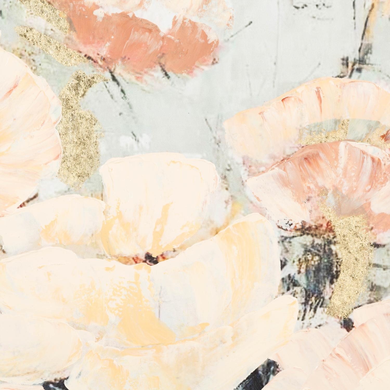 SOFT FLOWERS YAĞLIBOYA TABLO 100X100 CM